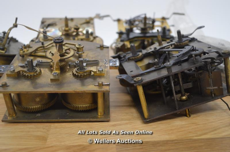 6X VARIOUS MECHANICAL MOVEMENTS,BRASS,RESTORATION AND REPAIR. - Image 3 of 3