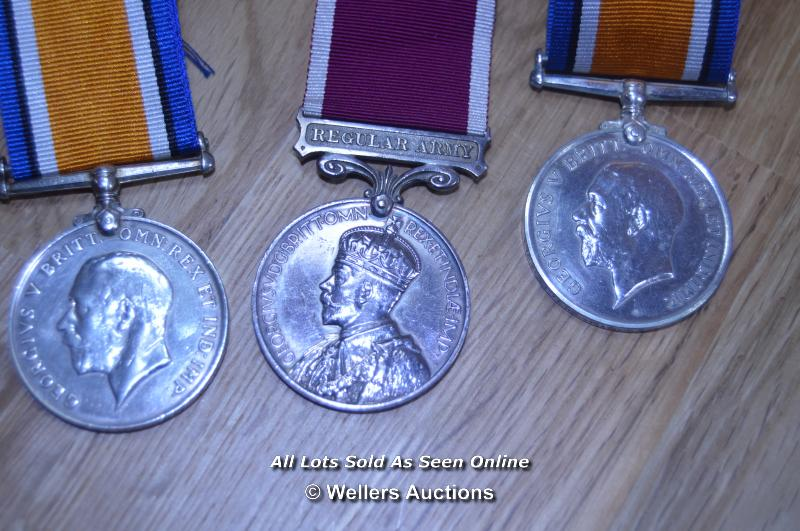 COLLECTION OF BRITISH GREAT WAR IMPERIAL SERVICE MEDALS INCLUDING 2X MINITURES 6X FULL SIZE MEDALS - Image 3 of 6