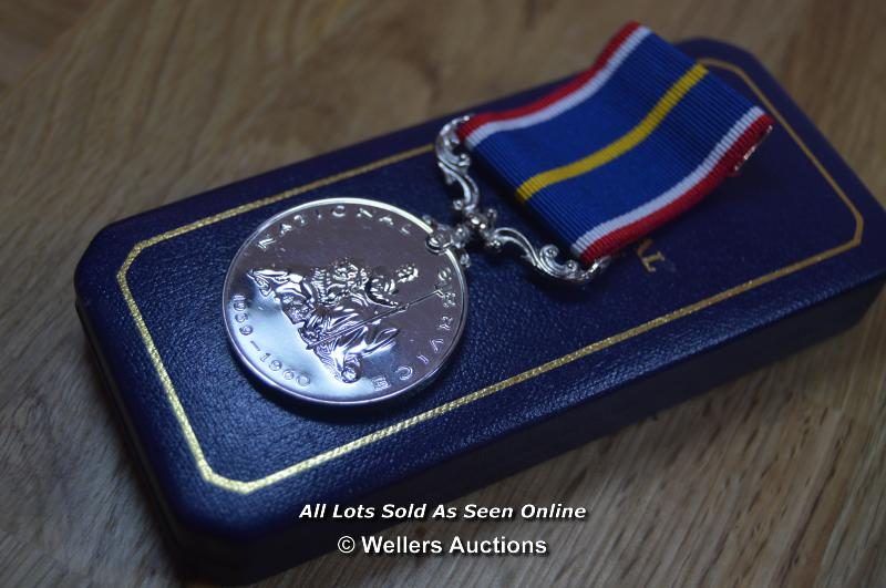 COLLECTION OF BRITISH MILITARY, NATIONAL SERVICE AND COMMEMORATION MEDALS, INCLUDING MINITURES - Image 2 of 8