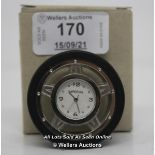 IMPERIAL,QUARTZ ,TYRE CLOCK / APPEARS TO BE NEW - OPENED BOX