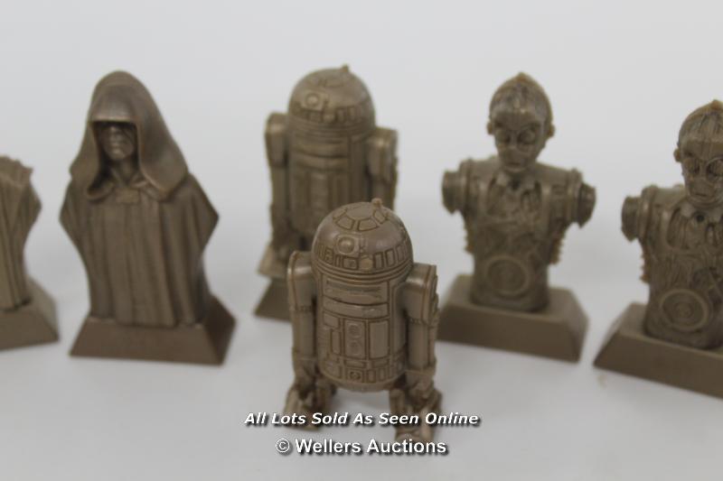 STAR WARS EPISODE 1-MIXED KELLOGGS CHARACTER BUSTS - Image 3 of 5