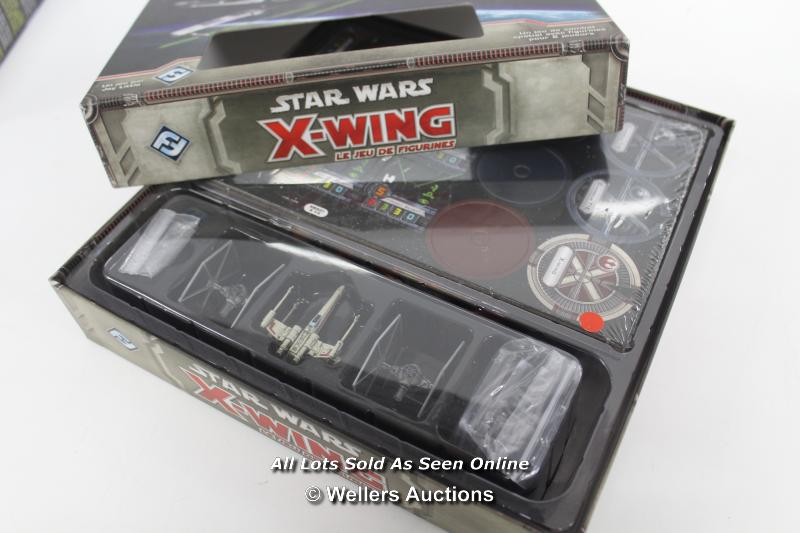 STAR WARS X-WING MINIATURES GAME AND TIE FIGHTER EXPANSION PACK MODEL - Image 3 of 4