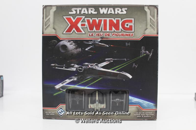 STAR WARS X-WING MINIATURES GAME AND TIE FIGHTER EXPANSION PACK MODEL - Image 2 of 4