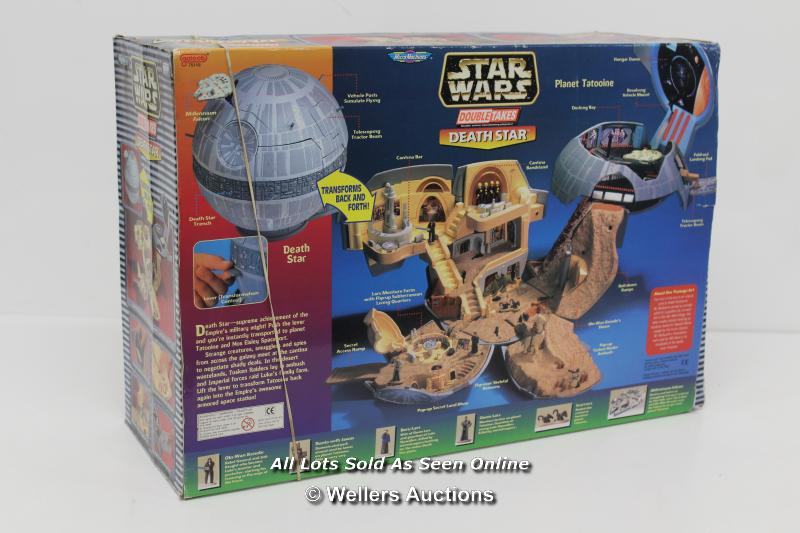MICRO MACHINES DOUBLE TAKES DEATH STAR / TATOOINE PLAYSET. UNUSED, OUTER BOX OPENED - Image 2 of 4