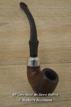 *VINTAGE K&P PETERSON'S SYSTEM STANDARD SMOKING PIPE / 14CM [LQD214]