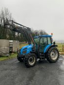 2000 LANDINI GHIBLI TRACTOR WITH LOADER . 5400 HOURS