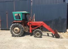 MF 135 WITH LOADER