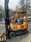 COVENTRY CLIMAX FORKLIFT TRUCK