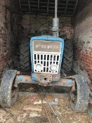 FORD 4000 TRACTOR - SOLD AS SEEN