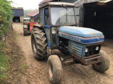 Leyland 270 2wd Tractor.