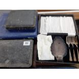 PART CANTEEN & CUTLERY,TEA FORKS ETC