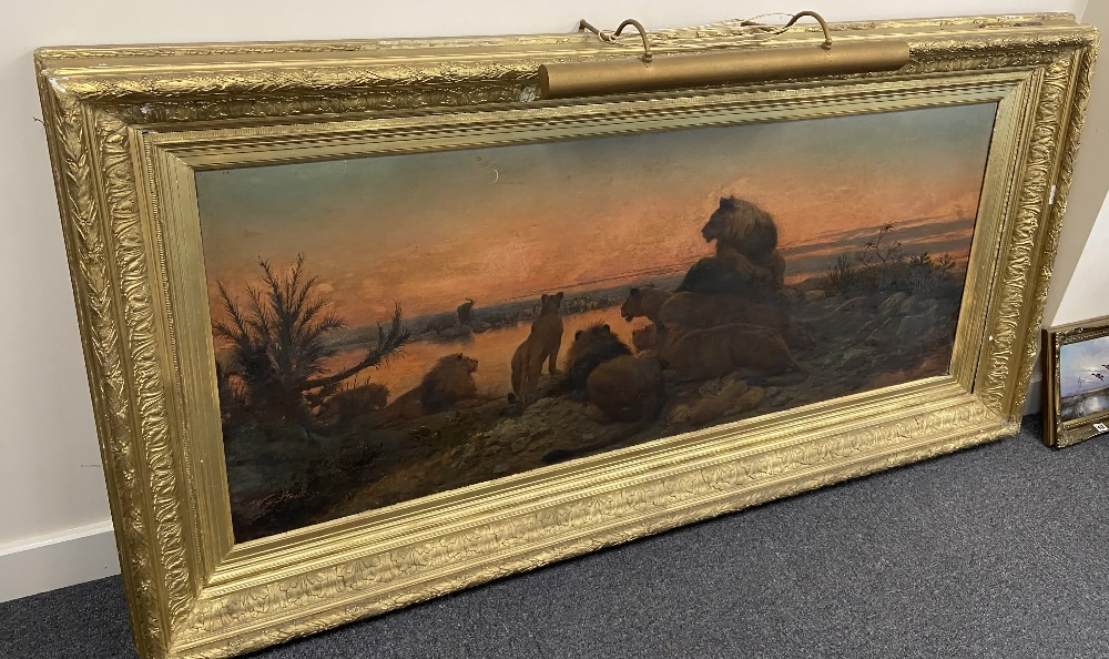 WILLIAM STRUTT 1825-1915 SIGNED OIL ON CANVAS - Image 4 of 11