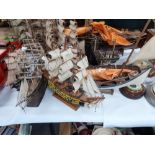 COLLECTION OF MODERN SAILING BOATS