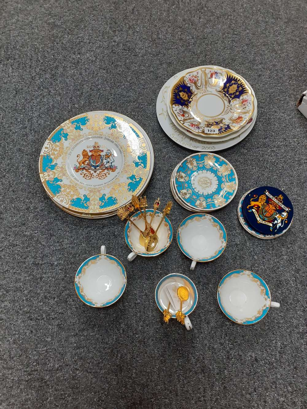 COLLECTION OF COMMEMORATIVE CHINA