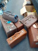 COLLECTION OF VINTAGE LUGGAGE