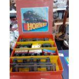 1930 HORNBY TRAIN PASSENGER SET