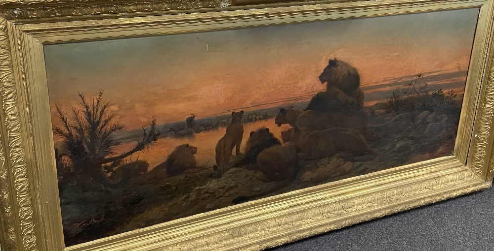 WILLIAM STRUTT 1825-1915 SIGNED OIL ON CANVAS - Image 3 of 11