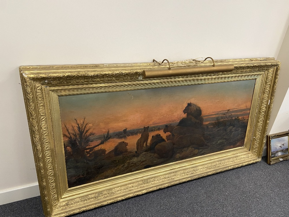 WILLIAM STRUTT 1825-1915 SIGNED OIL ON CANVAS - Image 5 of 11