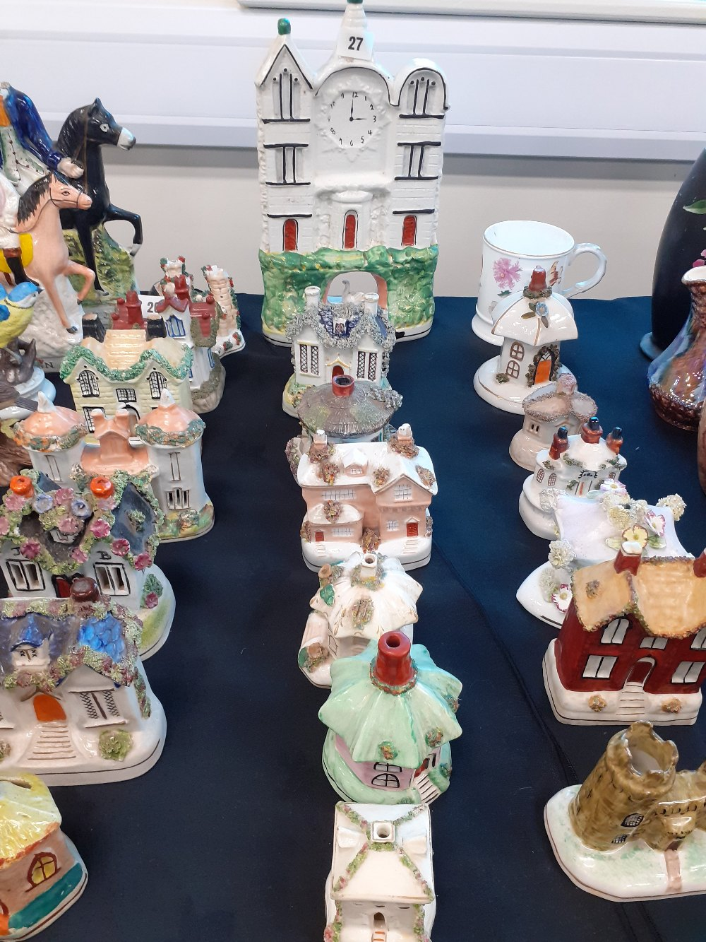 STAFFORDSHIRE POTTERY COTTAGES