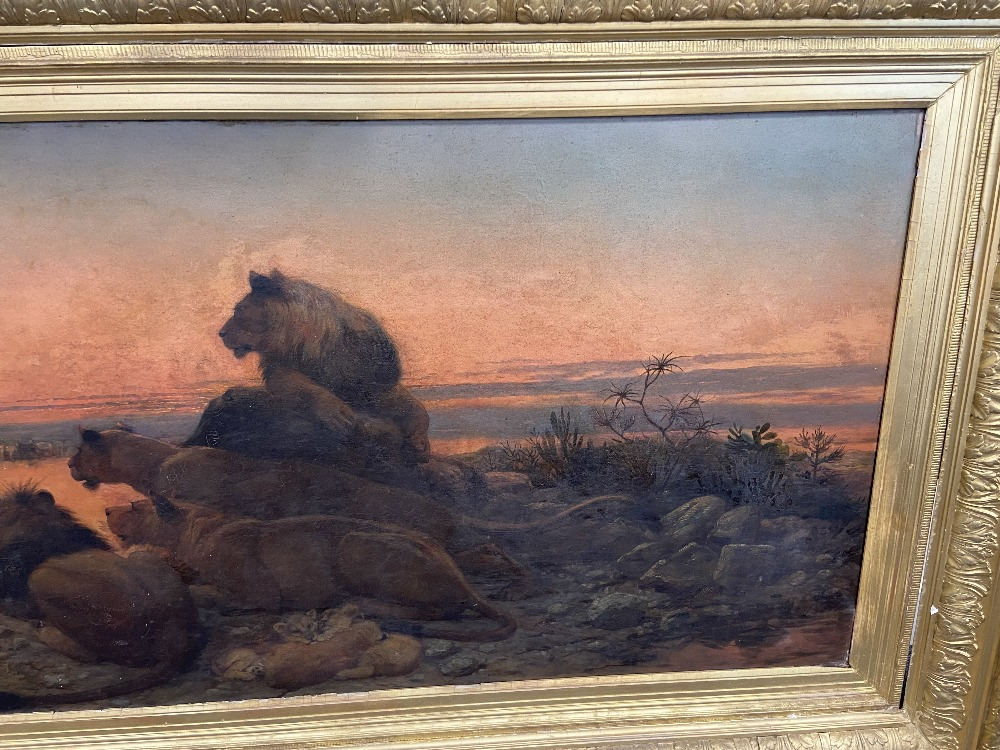 WILLIAM STRUTT 1825-1915 SIGNED OIL ON CANVAS - Image 8 of 11