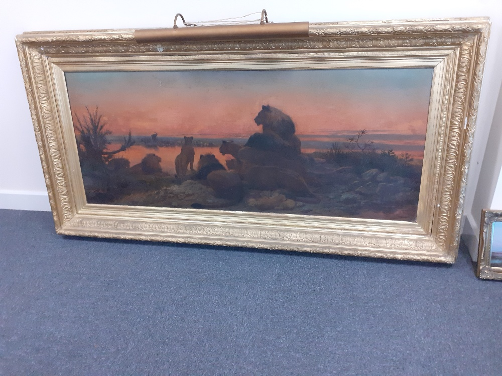 WILLIAM STRUTT 1825-1915 SIGNED OIL ON CANVAS