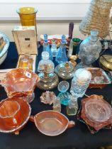 COLLECTION OF CARNIVAL GLASS ETC