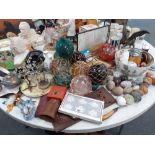 LARGE QUANTITY OF GLASS AND CHINA