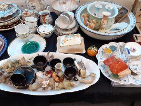 CHINESE TEA POT, RUSSELL HOBBS TEA SET