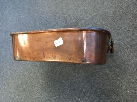 VICTORIAN LARGE COPPER PAN