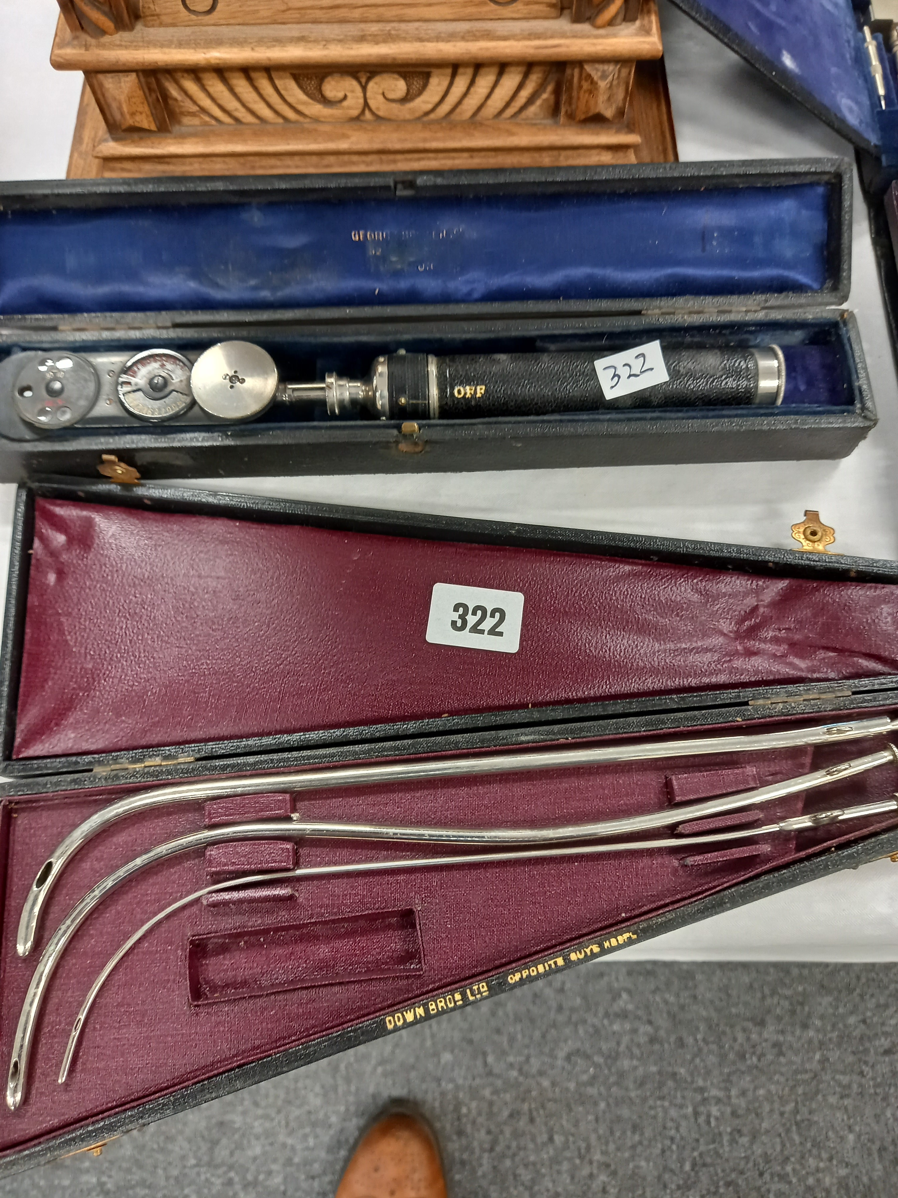 2 BOXES OF MEDICAL INSTRUMENTS