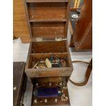 1920'S OAK CASED ELECTRIC PULSE MACHINE