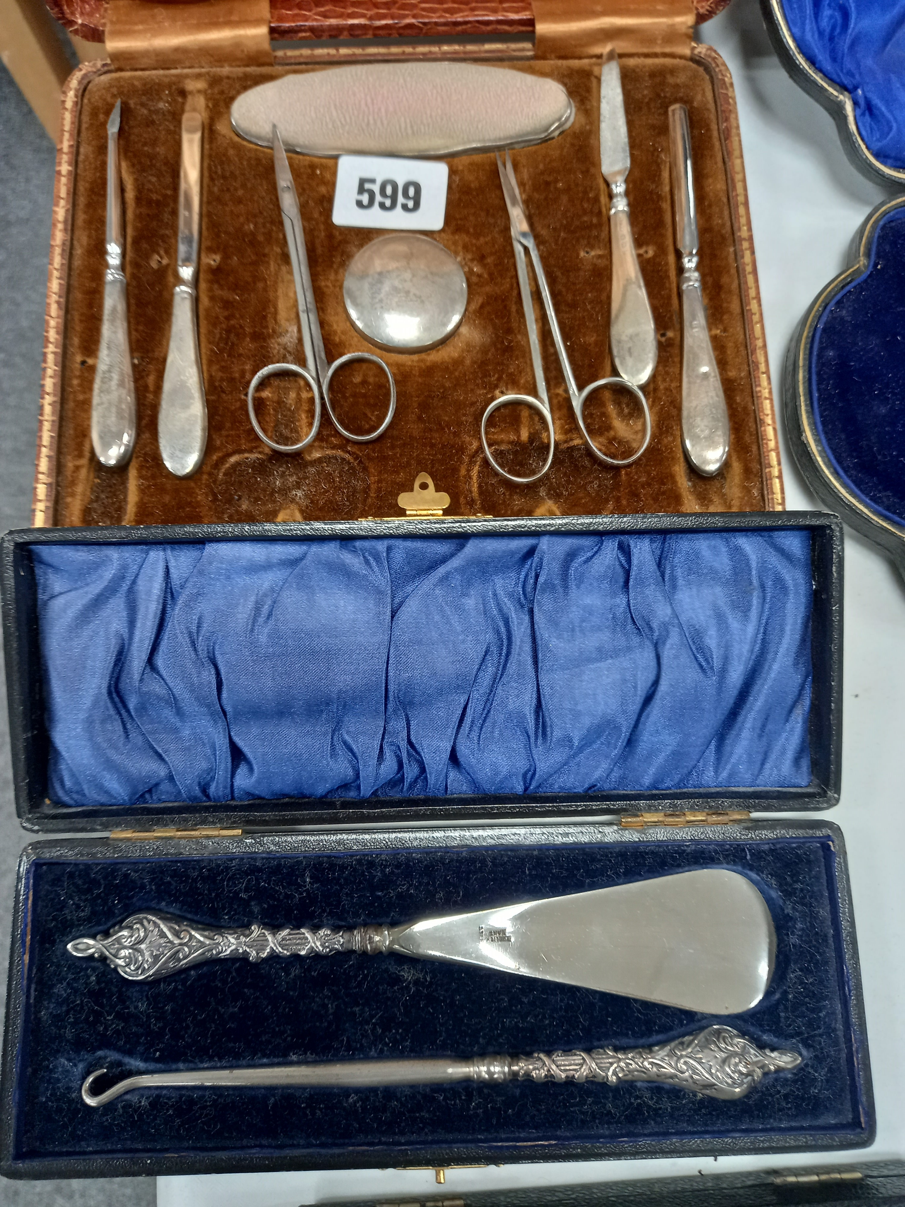 VICTORIAN H/M LOADED SILVER HANDLED BUTT