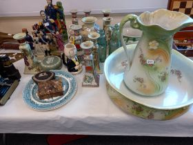 REPRODUCTION STAFFORDSHIRE FIGURES