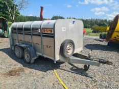 2007 IFOR WILLIAMS 10FT STOCK TRAILER