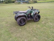 2010 YAMAHA GRIZZLY 350 2WD/4WD