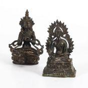 Kleiner Buddha und Tara