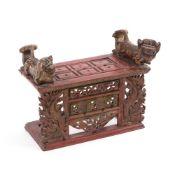 Altar für Räucherstäbchen