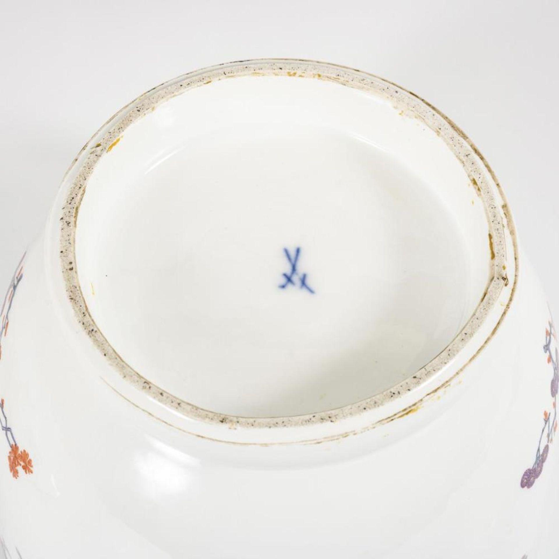 Barockes Deckelgefäß mit Frauenkopfhandhaben - Image 11 of 11
