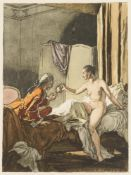 Giacomo Casanova mit weiblichem Akt