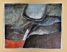 """Wolfgang Steiner (*1935, Crimmitschau) - """"Celestial body"""", 1969"""