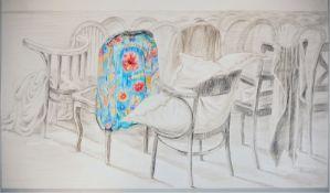Gudrun Hohmann - Still Life Chairs, 1990