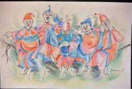 Gudrun Hohmann - Clowns, 1991