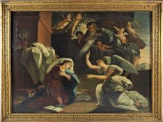 Johann Fraidel (1819, Ulm - 1849, Munich) - The Annunciation, 1836