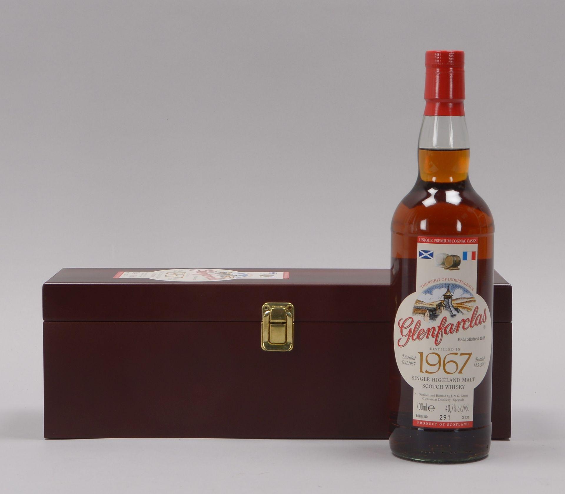 Sammlerwhisky: 'Glenfarclas Single Highland Malt Scotch Whisky', 'Distilled 17.11.196 - Image 3 of 4