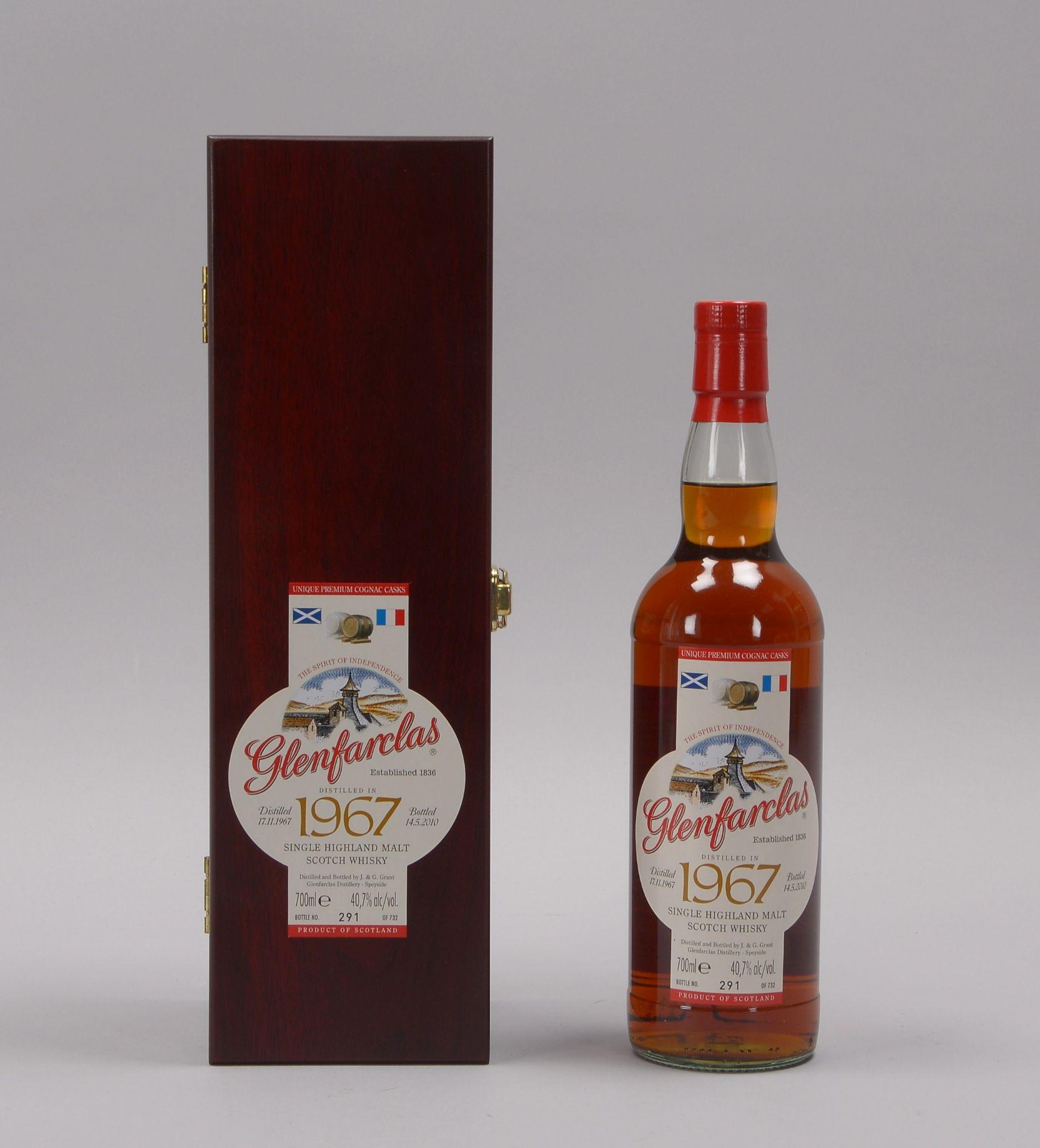 Sammlerwhisky: 'Glenfarclas Single Highland Malt Scotch Whisky', 'Distilled 17.11.196 - Image 4 of 4