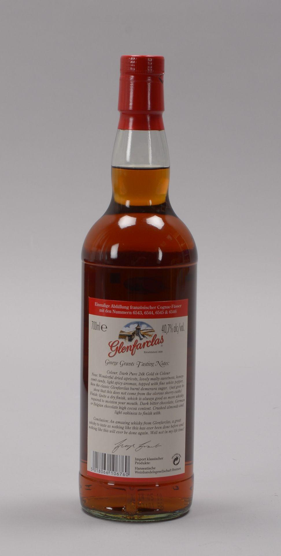Sammlerwhisky: 'Glenfarclas Single Highland Malt Scotch Whisky', 'Distilled 17.11.196 - Image 2 of 4