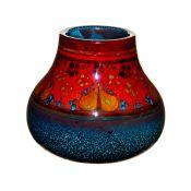Royal Doulton Sung Flambe Vase, Underwater Scene