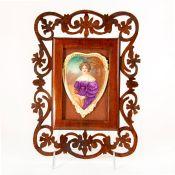 Royal Doulton Leslie Johnson Plaque Of Woman