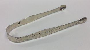 HESTER BATEMAN: A pair of good bright cut silver s
