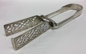 A good pair of fiddle and thread pattern silver as